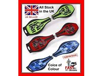 *SPECIAL OFFER* Ripstik Waveboard Air pro Caster Skateboard Skating Board Blue Green Red as razor >