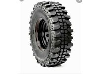 Wanted - 31 x 10.5 R15 Mud tyres