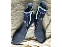 """""""Water proof"""" swedish brand dive boots 11 -12"""