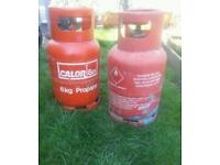 Calor gas Red propane bottle