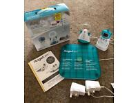 Angelcare baby monitor with motion sensor pad