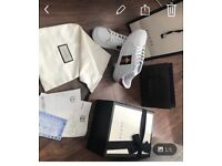 Gucci trainers men's and woman's