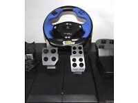 Logitech Driving Force - Force Feedback Wheel PC / Playstation
