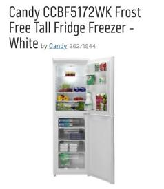 10 months old Candy Fridge freezer