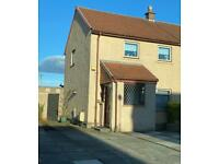 Kirkcaldy Two Bedroom, End Terrace Villa With Front and Rear Extensions
