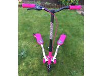 Smyths Girls Sporter 1 Pink, Black & White Scooter - Immaculate Condition