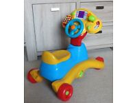 VTech Grow and Go Ride-On Kids Toy - Fantastic Condition!
