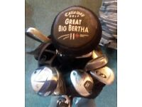 Callaway Golf Clubs Bag and extras for Sale