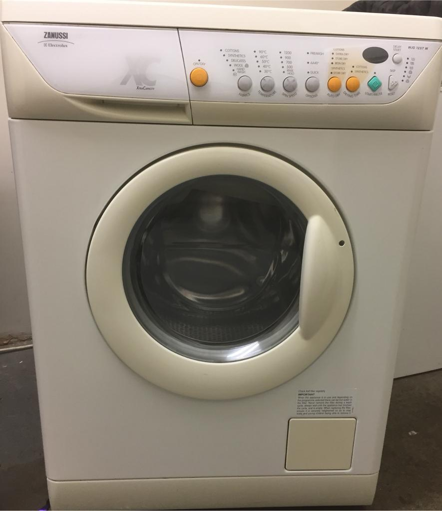 Zanussi washer/dryer can deliver