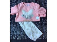 Brand New Girls Pyjamas - Age 8-9