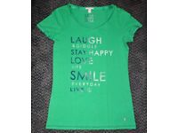 ESPRIT - Green women's t-shirt with print