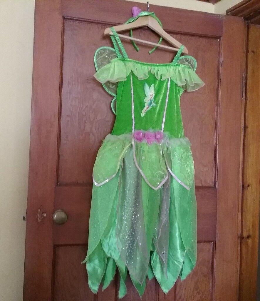 Disney Fairies Tinkerbell Dressing Up Costume & Disney Fairies Tinkerbell Dressing Up Costume | in North Walsham ...