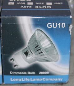 Longlife Company Halogen Bulbs
