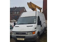 Iveco daily Cherry picker