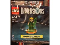 Sealed 71342 LEGO Dimensions Green Arrow Polybag
