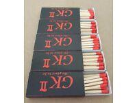 105x Boxes of Matches Bundle