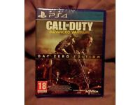 Call of Duty Advanced Warfare PS4 *Sealed / Brand New* -Day Zero Edition-