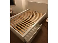 IKEA bed frame (with 4 drawers)