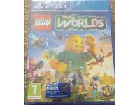 PS4 LEGO Worlds Still in Wrapper