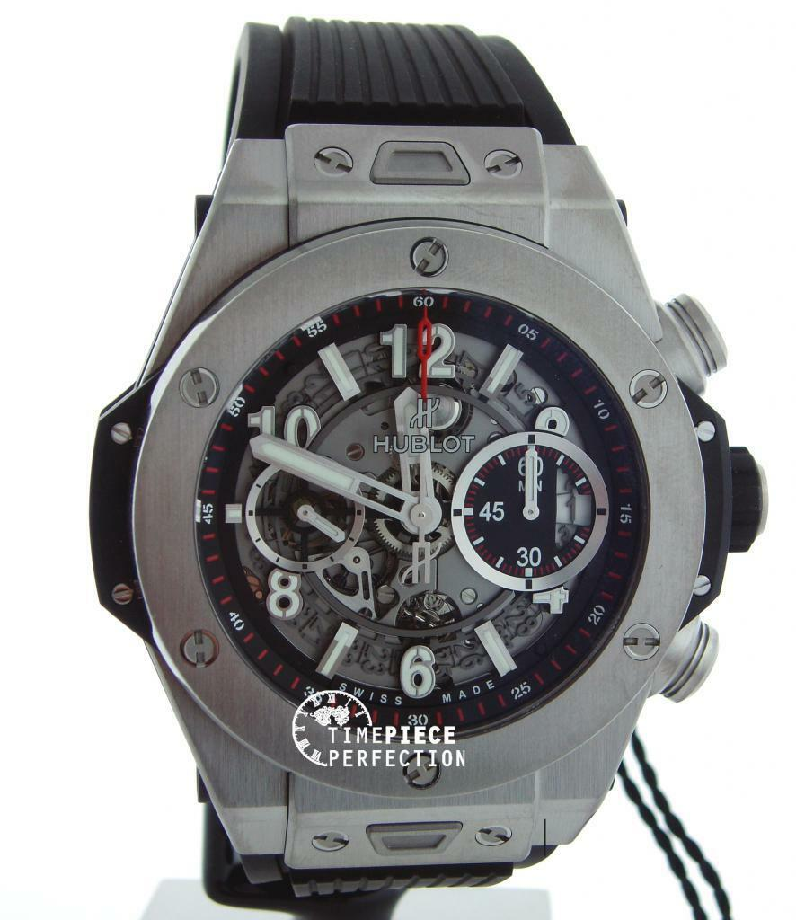 Jewelry & Watches Responsible Hublot Cover Warranty 100% Original