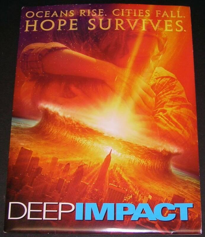 Deep Impact Morgan Freeman Press Kit Photos +