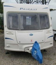 BAILEY PAGEANT SERIES 7 LOIRE 2009 *FIXED BED* 6 BERTH CARAVAN