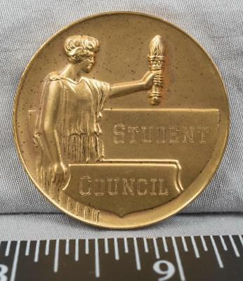 Vintage Student Council Medallion 1956 jds2