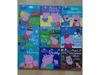Peppa board book collection