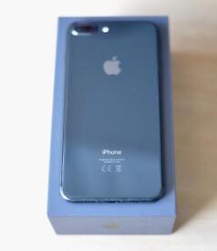 Apple IPhone 8 Plus Grey 256GB on O2