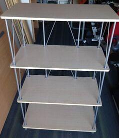 Maple wood shelfing unit