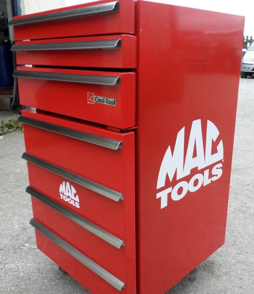 Rare Mac Tools Fridge Toolbox Mobile New In