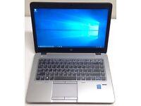 "HP ELITEBOOK 840 G2 14"" ULTRABOOK,CORE I5-5300U 2.30GHZ,240GB SSD,8GB RAM,WINDOWS 10,MINT CONDITION"