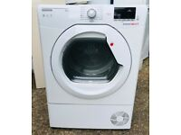 **HOOVER TUMBLE DRYER**CONDENSER**9 KG**EXCELLENT CONDITION**COLLECT\DELIVERY**NO OFFERS**1 YEAR OLD