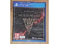 SONY PLAYSTATION PS4 GAME THE ELDER SCROLLS MORROWIND BETHESDA PAL 18 DISCOVERY*