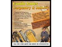 Camilo James Carpentry & Joinery - professional carpenter/handyman with competitive rates