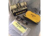 MOSCOT Lemtosh eye glasses frames Small 44mm BLACK / new unisex johnny depp S