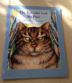 The Cat who Lost his Purr Large Book