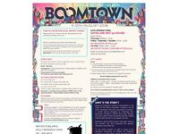 Boomtown 2018 Ticket -- 9-12th Aug