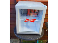 Husky Budweiser Fridge , it powers on but does not get cold, it might need a new theromstat........