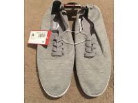 Men's grey Slazenger plimsoles - size 10