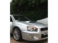 "Subaru Impreza 2.0 WRX Turbo 4 door ""PPP"" ( HPI CLEAR )"