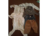 Baby boys clothes 0-3 months mothercare and next