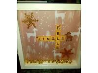 Jingle bells frame
