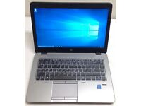 "HP ELITEBOOK 840 G1 14"" ULTRABOOK,CORE I5-4310U 2.0GHZ,1TB HYBRID HDD,8GB RAM,WIN 10,GOOD CONDITION"
