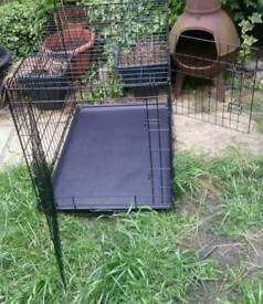 Dog Cage. Folding Crate