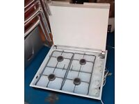 4 ring gas hob - portable for inside or outside catering. Hotpoint