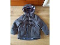 Boys duffle coat age 1 1/2 to 2 years