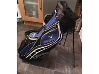 Callaway golf bag - stand and carry straps