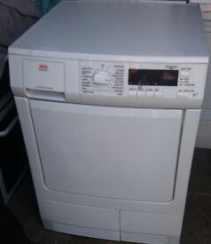 7kg aeg condenser dryer