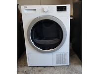 FREE DELIVERY Beko A++ energy rated, 8KG condenser tumble dryer WARRANTY